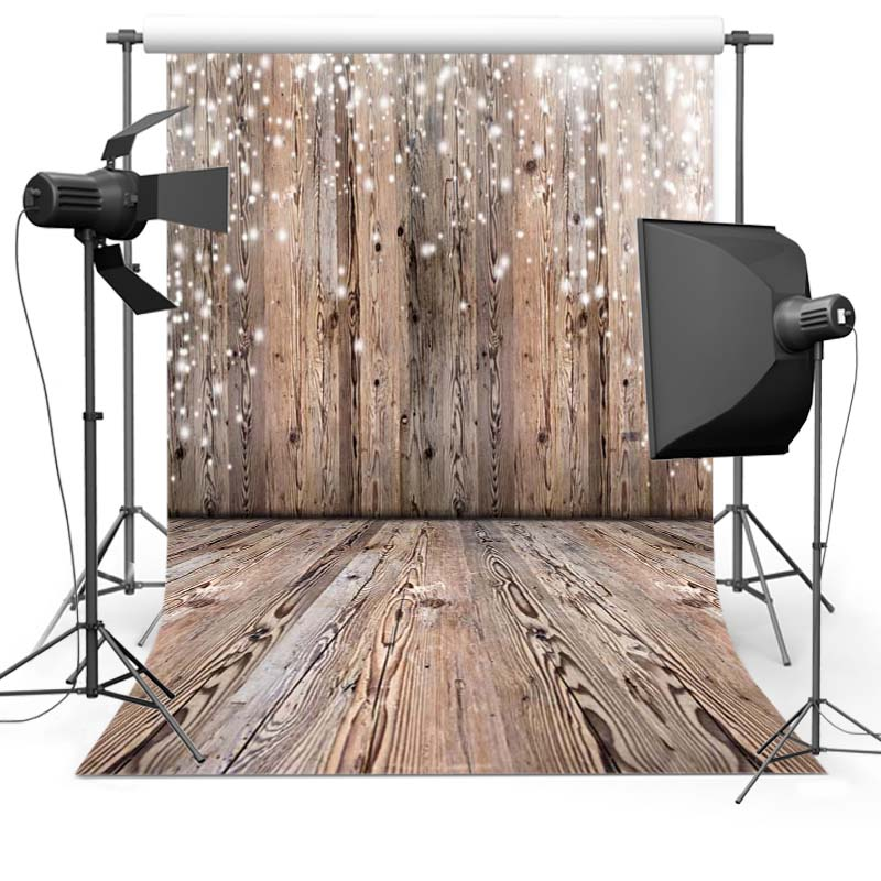 1.5x2.2M  Thin vinyl fabric computer Printed photography background wood floor photo backdrops for photo Studio  Floor-621
