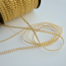 hot sale Golden special gold ribbon lace dress cheongsam edge decoration materials G907