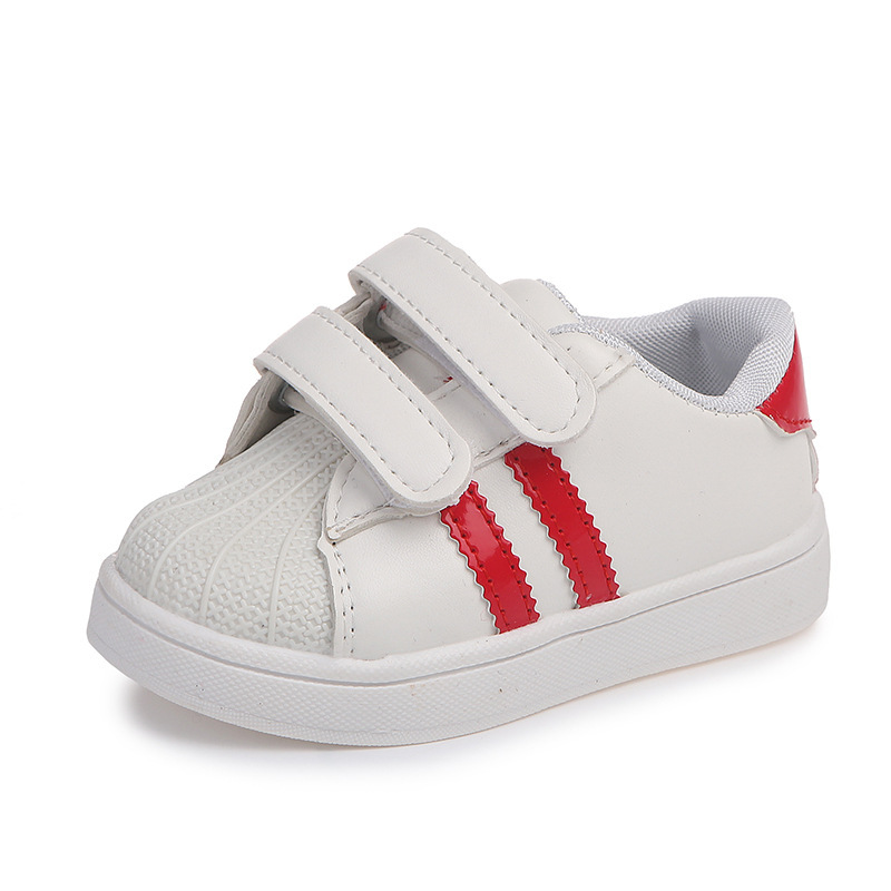 2020 Spring Summer Children\'S Fashion Sneakers New Boys Girls Sprt Shoes Shellfish Sneakers Casual White Shoes For Kids