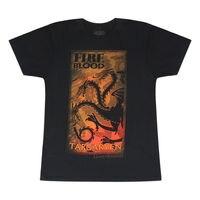 Game Of Thrones Targaryen House Symbol Black T Shirt