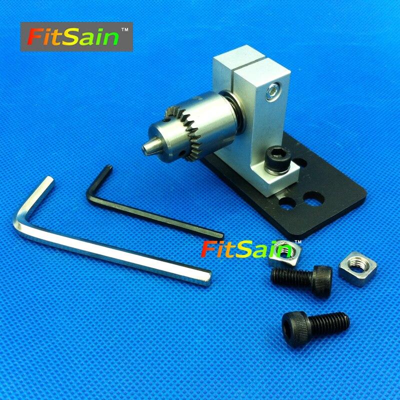FitSain--Adjustable Precision live center for lathe machine Revolving Centre DIY accessories for Mini lathe JT0 Drill chuck