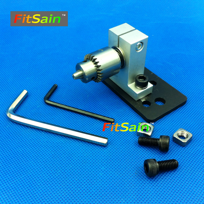 FitSain--Adjustable Precision live center for lathe machine Revolving Centre DIY accessories for Mini lathe JT0 Drill chuck adjustable double bearing live revolving centre diy for mini lathe machine