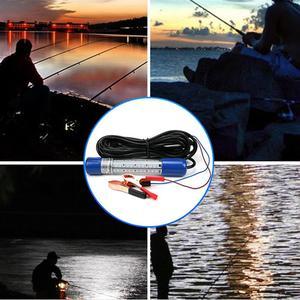 Image 5 - 1 יחידות LED כחול פגז מתחת למים דיג מנורת דיג בלילה אור Dock דקורטיבי אור 12 24 v