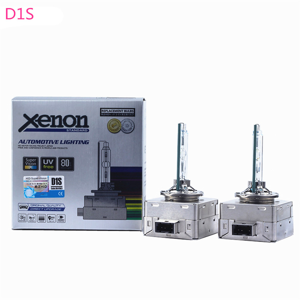 2pcs/lot 12V D1 <font><b>D1S</b></font> <font><b>35W</b></font> HID <font><b>XENON</b></font> Lamp AUTO Car HID for Volvo XC60 2008-2015 Renault Coupe 2012 for BMW X1 X3 X4 X5 X6 Z4 image