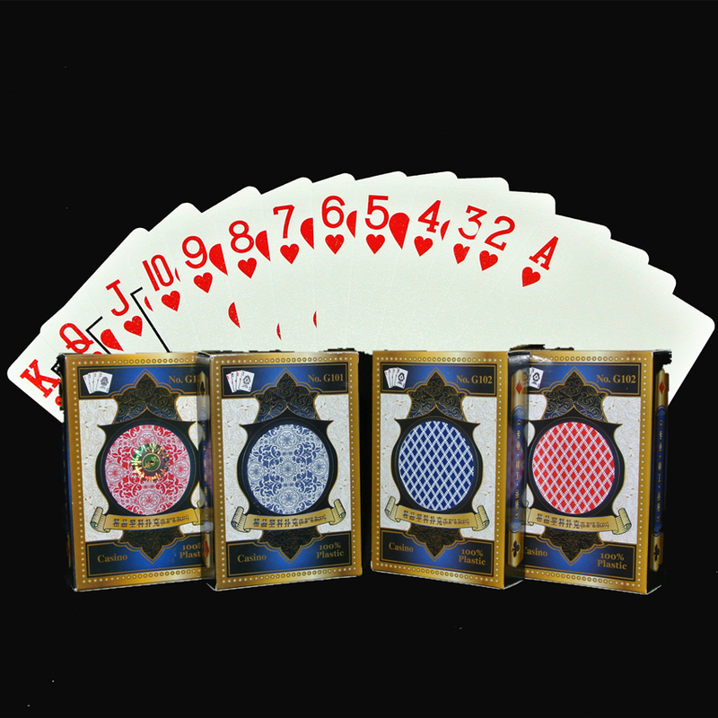 1Pcs Poker Standard Corner Code Professional Waterproof and Wear-resistant Plastic Playing Cards