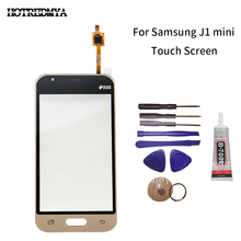 купить Touch Screen For Samsung Galaxy Grand J1 Mini J105  SM-J105Y J105H Touchscreen Panel Sensor Digitizer Outer Glass Lens With Tool дешево