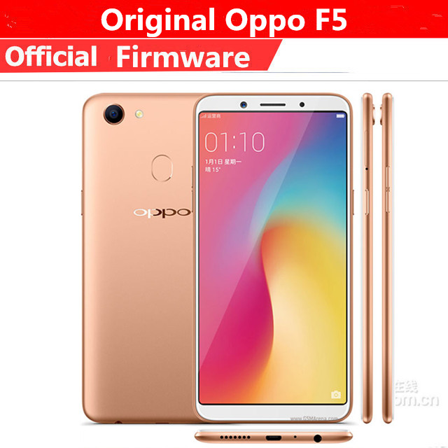 International Version Oppo F5 4g Lte Mobile Phone Mtk6763 Android 7 1 6 0 Ips 2160x1080 4gb Ram 64gb Rom 20 0mp Fingerprint Cellphones Aliexpress