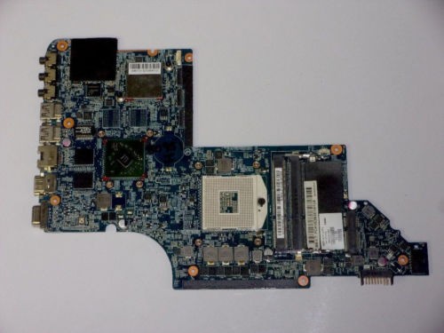 665986-001 for HP Pavilion DV7 DV7T DV7-6000 laptop motherboard DDR3 Free Shipping 100% test ok