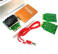 Caixa de ip 2 V alta velocidade Flash NAND IC Programador para iphone ipad disco rígido 4S 5 5c 5S 6 6 mais ferramentas de atualização de memória 16G para 128G