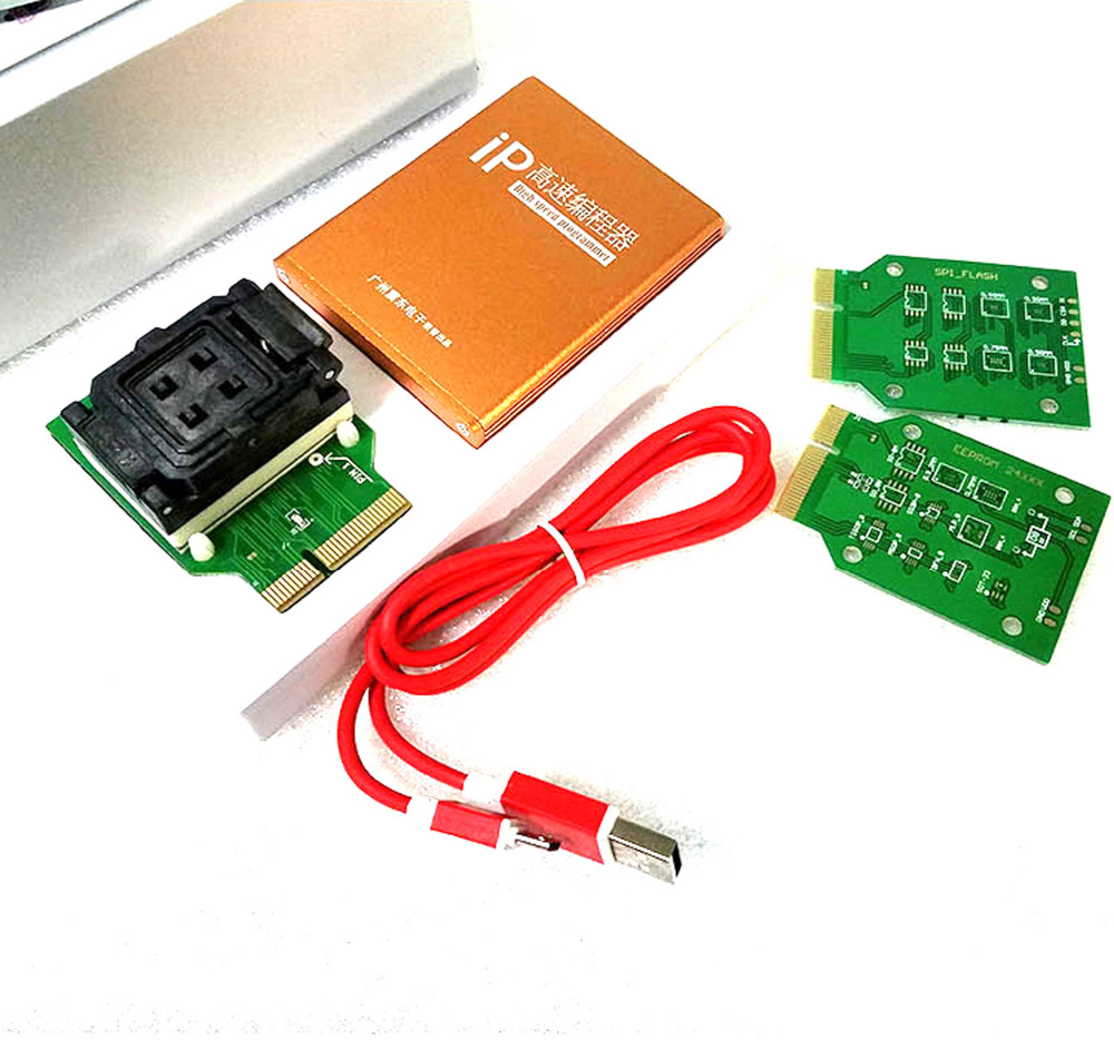 ip box V 2 high speed NAND Flash IC Programmer for iphone ipad hard disk 4s 5 5c 5s 6 6plus memory upgrade tools 16G to 128G