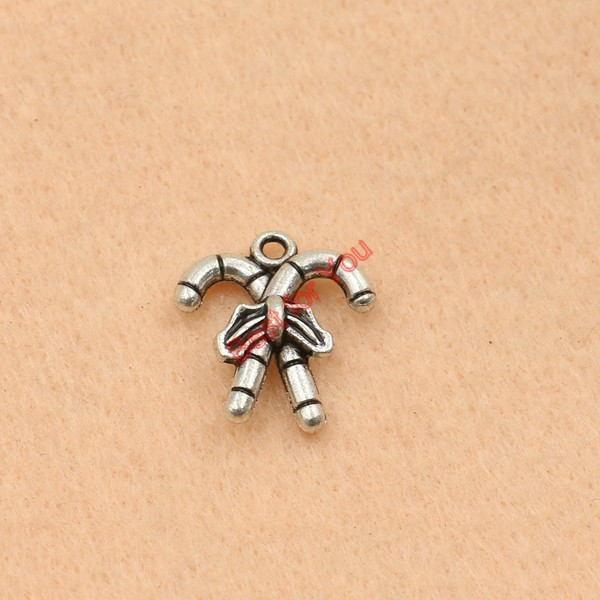 10pcs tibetan silver plated magic sticks charm pendants jewelry 10pcs tibetan silver plated magic sticks charm pendants jewelry making craft charm handmade jewelry diy accessories 19x17mm in charms from jewelry aloadofball Gallery