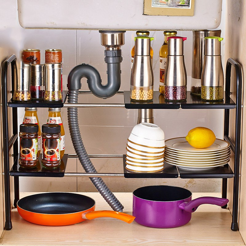 New Arrival Storage Rack Kitchen Storage Holders Double