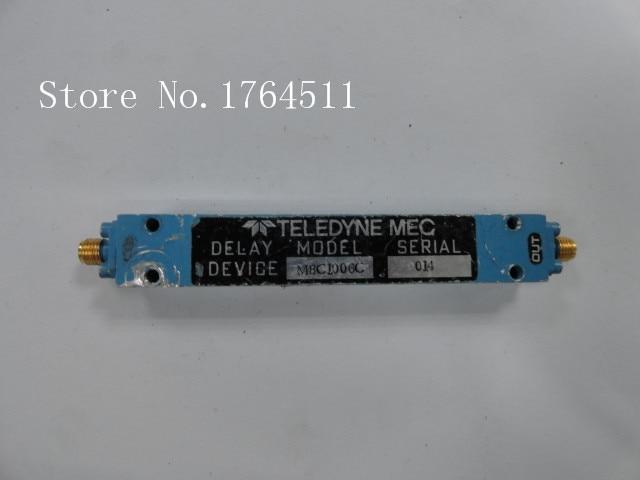 [BELLA] TELEDYNE MBC1006C 600-625MHZ RF Microwave Delay Line SMA