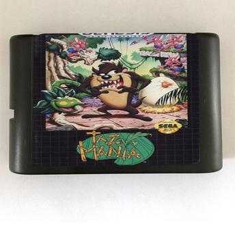 Taz Mania - 16 bit MD Games Cartridge For MegaDrive Genesis console