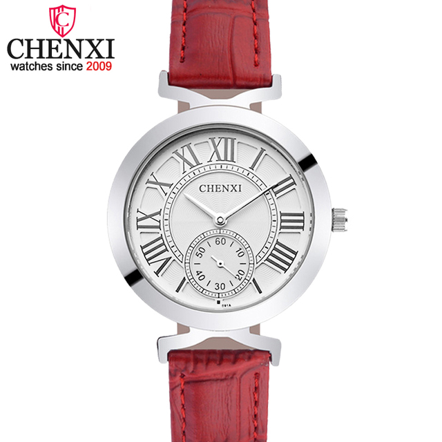 649b9fddbc4 CHENXI Moda Lady Rose Gold Relógio De Pulso Das Mulheres Famosa Marca de  Ouro Relógios de