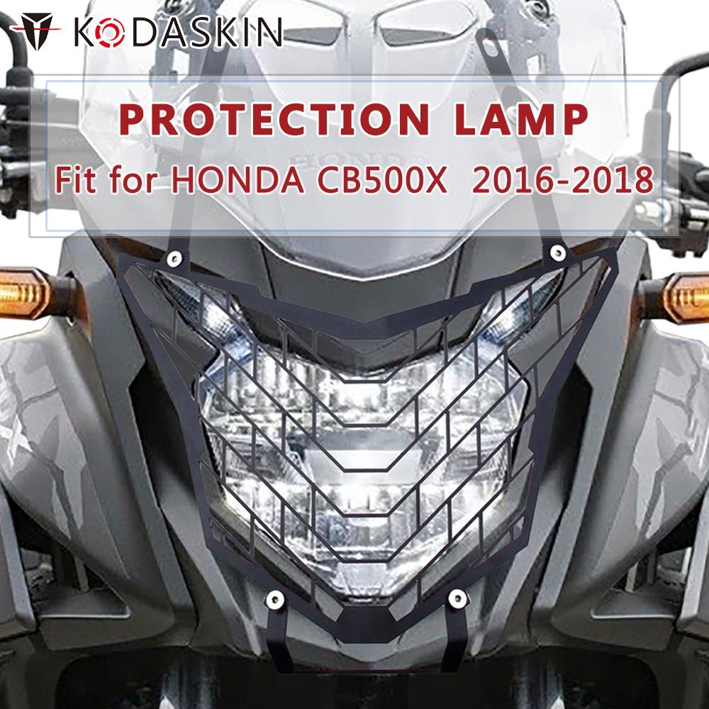 Motorcycle Headlight Protector 2016+ Light Guard Kit Honda CB500X