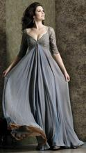 dress free shipping 2013 Plus Size Long sleeves Bridal Wedding Formal Evening Party Prom Dress Gown