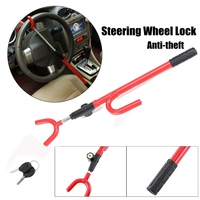 NEW Stainless Steel Steering Wheel Lock The Club Car Anti Theft Truck SUV Auto Van Universal