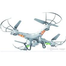 RC Helicóptero Drone X5C 0.3 M Cámara 360-Eversion 2.4G Control Remoto 4 CH Giroscopio de 6 Ejes Quadcopter Luz Led Avión Volando juguete