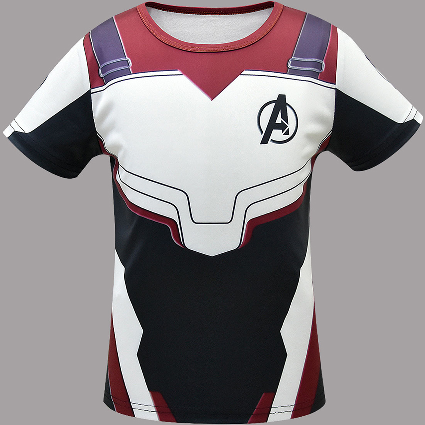 Quantum Cosplay Costumes Men Avengerss 4 Endgame Quantum War Battle Suit T Shirts Men Halloween Costumes For Men Party Dress in Movie TV costumes from Novelty Special Use