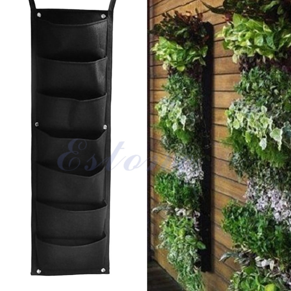 indoor tower garden. 7 Pocket Indoor Outdoor Wall Balcony Herbs Vertical Garden Hanging Planter Grow Bag-in Bags From Home \u0026 On Aliexpress.com | Alibaba Group Tower