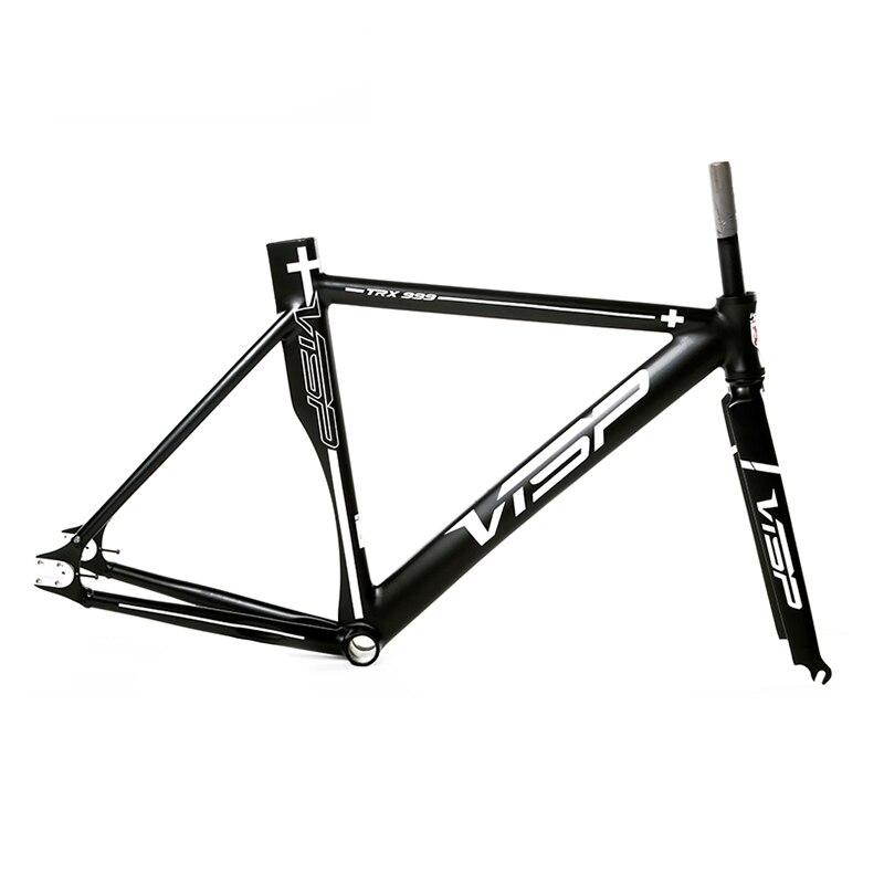 Bike-Frame Fixed-Gear Aluminum-Alloy Single-Speed VISA TRX999 58/51cm
