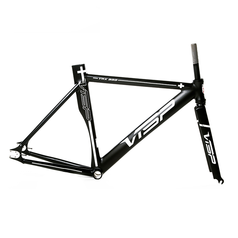 single speed bike frame 700C*48/51/54/58/51cm Fixed Gear Bike frame VISA TRX999 road bicycle frame aluminum alloy frame цена и фото