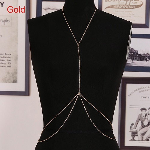 1 Pc Body Chain Harness...