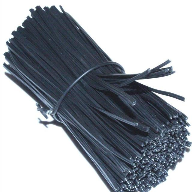 200pcs one bag 15CM Encapsulated Norse Wire plastic coated Iron ...