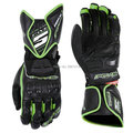 Free shipping 2016 New style RFX1 MOTO GP racing gloves leather long style motorcycle advanced riding gloves