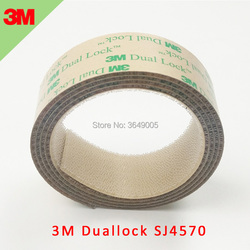 3 M SJ4570 podwójny zamek niski profil wielokrotnego zamykania samoprzylepne 25.4mm (1
