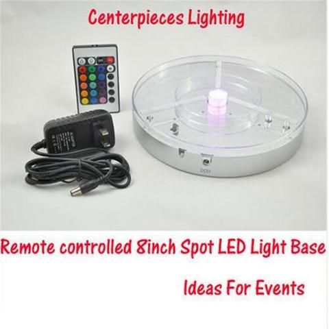 bateria recarregavel operado levou base de luz 4em1 rgbw conduziu a luz do ponto de