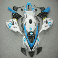 OEM For HONDA CBR 1000RR 06 07 CBR1000 RR White Injection Mold 2006 2007 Fairing Kit ABS Plastic Motorcycle Covering Free Gifts