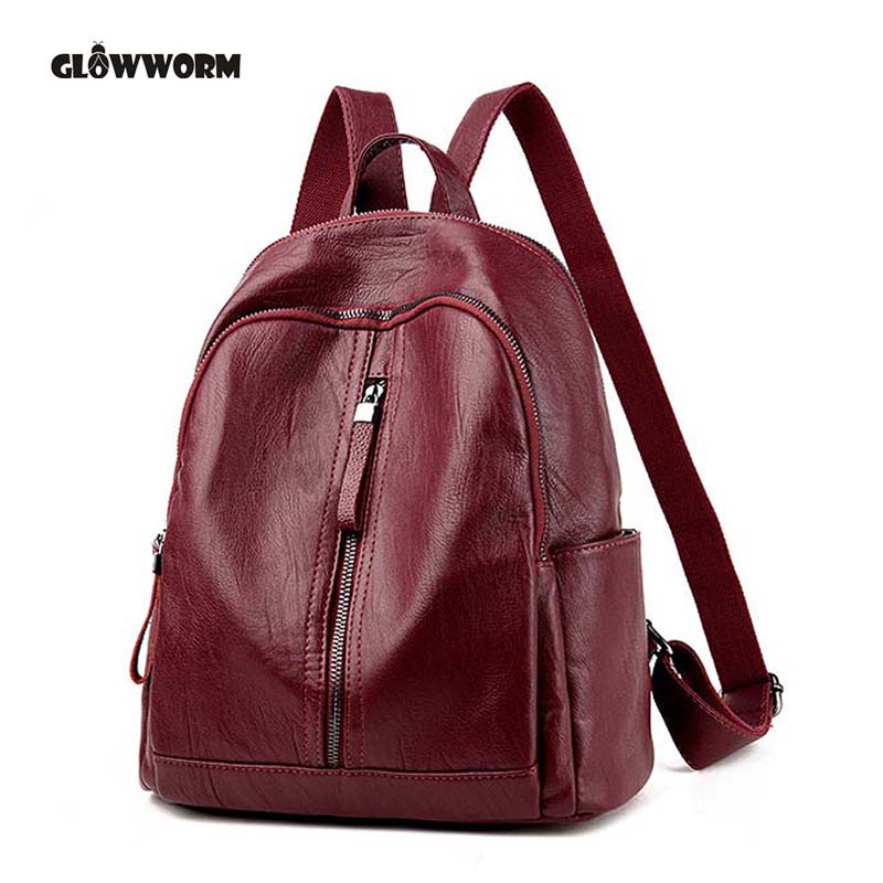 brand fashion women backpack high quality genuine leather school bags female serpentine prints drawstring backpacks women genuine leather backpack school bags for girls high quality fashion korean backpacks student bookbag free shipping