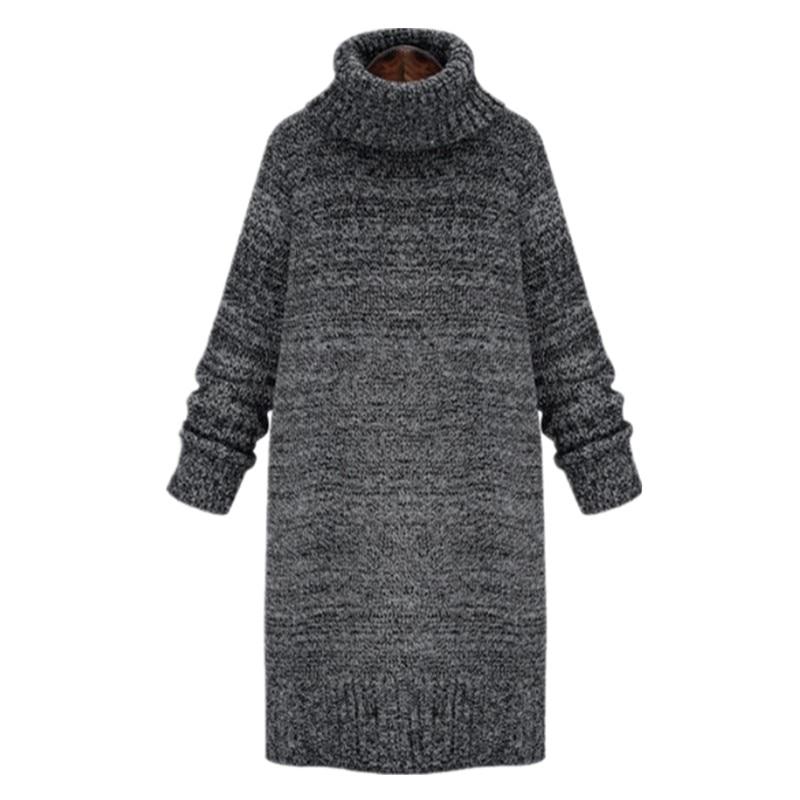 Sweater dress size oversized turtleneck plus jill