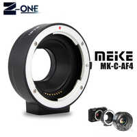 Meike MK-C-AF4 Electronic Auto Focus Adapter for Canon EF EF-S lens to EOS M M1 M2 M3 M5 M6 M10 M50 M100 EF-M mount