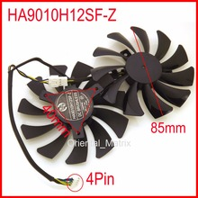 Free Shipping HA9010H12F-Z HA9010H12SF-Z 12V 0.57A 85mm 40*40*40mm 4Wire 4Pin For Dataland Graphics Card Cooling Fan free shipping ha9010h12f z ha9010h12sf z 12v 0 57a 85mm 40 40 40mm 4wire 4pin for dataland graphics card cooling fan