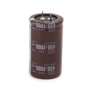 Image 1 - عالية التردد 450V 1000 فائق التوهج الألومنيوم مُكثَّف كهربائيًا حجم 35x60