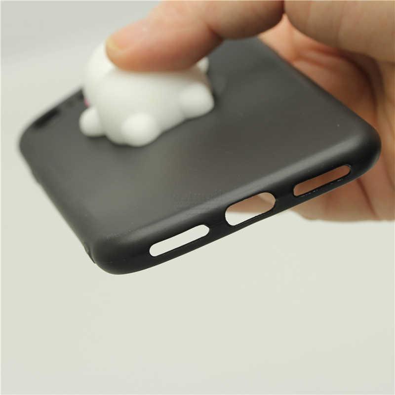 Чехол для iPhone 5, 5s SE милый Кот 3D разминающая Щепка мягкая игрушка мягкая задняя крышка для iPhone 6 S Plus Чехлы медленно поднимающиеся телефонные сумки