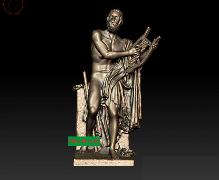 3D model for cnc 3D  CNC machine in STL file format Ancient Greek poet martyrs faith hope and love and their mother sophia 3d model relief figure stl format religion for cnc in stl file format