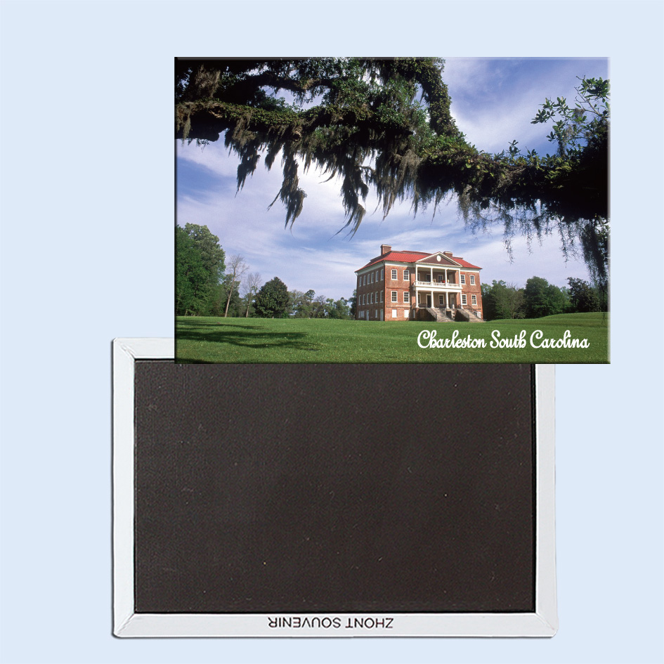 Drayton Hall Plantation, Charleston, South Carolina, Magnetic refrigerator stickers, tourist souvenirs, small gifts 24731-in Fridge Magnets from Home ...