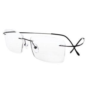 Image 2 - R1509 Eyekepper Titanium Rimless Reading Glasses Readers Men +0.0/0.5/0.75/1.0/1.25/1.5/1.75/2.0/2.25/2.5/2.75/3.0