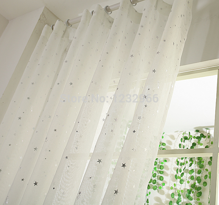 Cotton Voile Curtains White Curtain Menzilperde Net