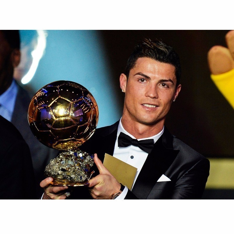 25cm 1:1 Ballon D'Or Resin Replica Trophy World Footballer Of The Year 2018 19 World Football ACE MVP Best Player Champions Cup-in Sports Souvenirs from Sports & Entertainment    2
