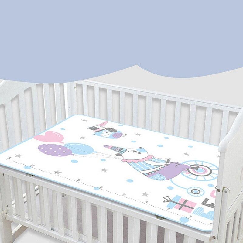 Cartoon Cotton Kids Newborn Urinal Pad Baby Changing Mats Waterproof Washable DY
