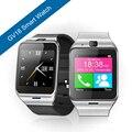 "Aplus gv18 smart watch a prueba de agua teléfono 1.55 ""cámara del reloj de la tarjeta sim gsm nfc smartwatch para iphone6 samsung android teléfono"