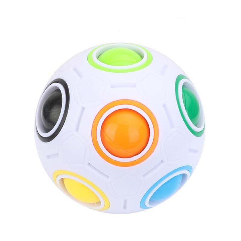New Stress Reliever Magic Rainbow Ball გართობა Magic - ფაზლები - ფოტო 3