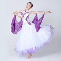 woman modern ballroom dance competition dresses Designed for adult women standard viennese waltz ladies dance costume