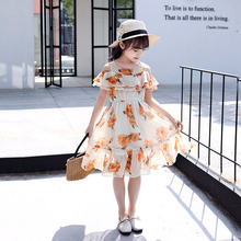 Teenage Girls Dress 2019 Summer Bohemia Kids Dresses for Girls Off Shoulder Party Princess Children Dress 4 6 8 10 12 13 Years