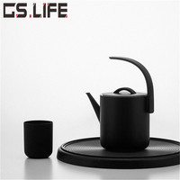 New SANJIE D1 Electric Kettle 850ml Stainless Steel Portable Water Boiler Beautiful Good Quality Electric Tea Pot